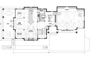 Country Style House Plan - 2 Beds 2.5 Baths 2557 Sq/Ft Plan #928-297 Floor Plan - Main Floor