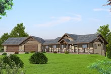 Home Plan Design - Ranch Exterior - Front Elevation Plan #117-875
