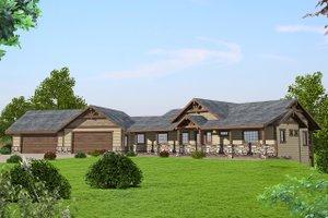 House Plan Design - Ranch Exterior - Front Elevation Plan #117-875