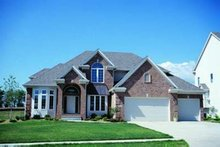 Dream House Plan - Traditional Exterior - Front Elevation Plan #20-1015