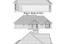 Traditional Exterior - Rear Elevation Plan #70-652