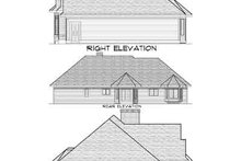 Dream House Plan - Traditional Exterior - Rear Elevation Plan #70-652