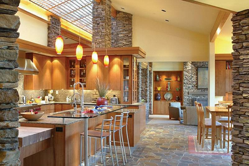Ranch Interior - Kitchen Plan #48-433 - Houseplans.com
