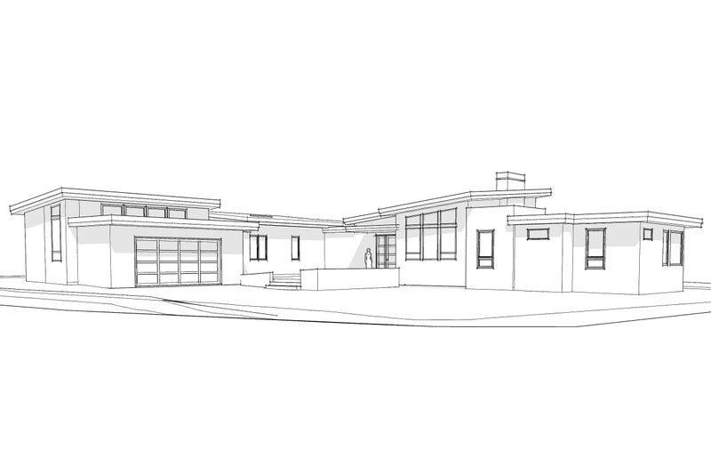 Contemporary Exterior - Other Elevation Plan #892-9 - Houseplans.com