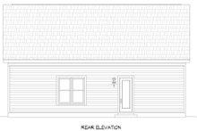 House Plan Design - Contemporary Exterior - Rear Elevation Plan #932-342