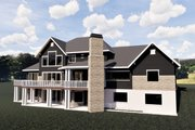 Craftsman Style House Plan - 6 Beds 5 Baths 6756 Sq/Ft Plan #920-59 Exterior - Other Elevation