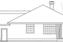 Modern Exterior - Other Elevation Plan #124-150