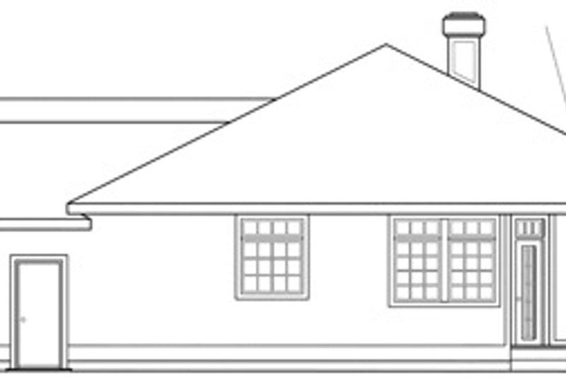 Modern Exterior - Other Elevation Plan #124-150 - Houseplans.com