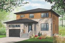 Home Plan - Modern Exterior - Front Elevation Plan #23-2292