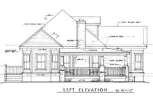 Farmhouse Exterior - Other Elevation Plan #140-133