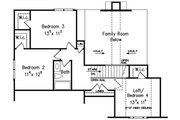 Country Style House Plan - 3 Beds 2.5 Baths 2182 Sq/Ft Plan #927-9 Floor Plan - Upper Floor