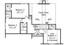 Country Floor Plan - Upper Floor Plan Plan #927-9