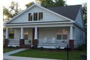Craftsman Style House Plan - 2 Beds 2 Baths 1302 Sq/Ft Plan #63-273 Exterior - Front Elevation