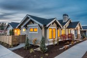 Craftsman Style House Plan - 3 Beds 2 Baths 1939 Sq/Ft Plan #895-82 Exterior - Front Elevation