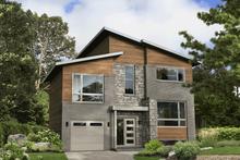House Plan Design - Contemporary Exterior - Front Elevation Plan #25-4916