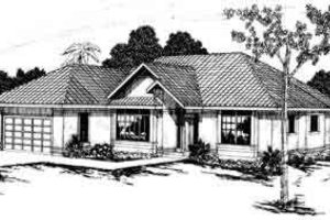 Traditional Exterior - Front Elevation Plan #124-219