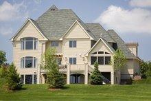 House Plan Design - Traditional Exterior - Rear Elevation Plan #56-603