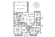 Cottage Floor Plan - Main Floor Plan Plan #310-702