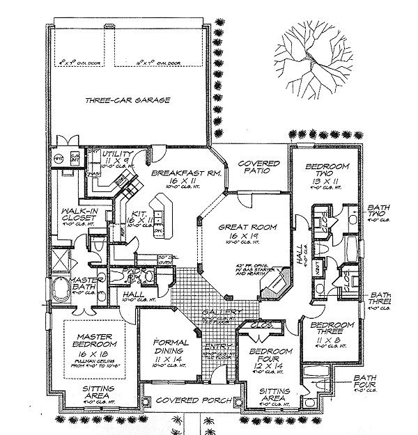 Cottage Floor Plan - Main Floor Plan Plan #310-702