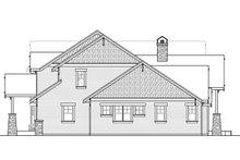 Craftsman Exterior - Other Elevation Plan #124-1032