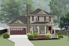 Dream House Plan - Southern Exterior - Front Elevation Plan #79-201