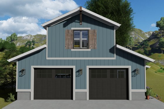 Traditional Exterior - Front Elevation Plan #1060-97