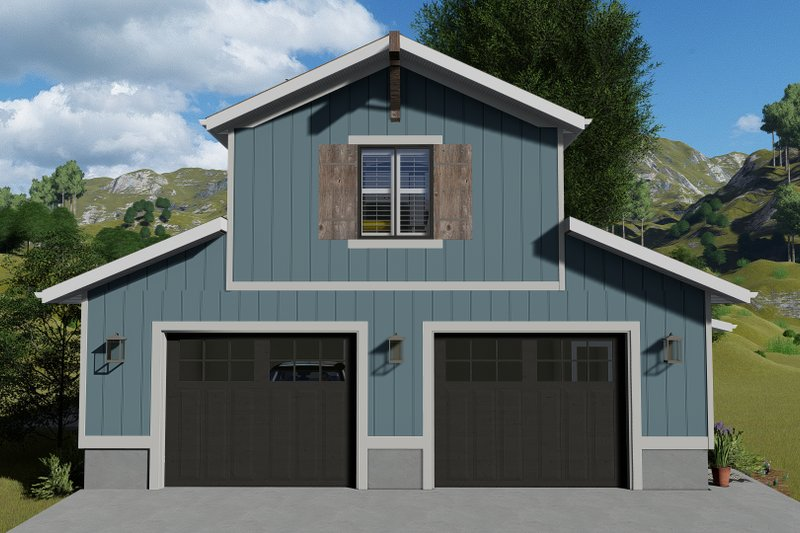 Dream House Plan - Traditional Exterior - Front Elevation Plan #1060-97