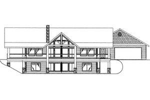 Bungalow Exterior - Front Elevation Plan #117-682