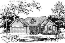 Home Plan - European Exterior - Other Elevation Plan #22-524