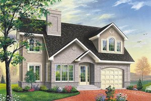 Traditional Exterior - Front Elevation Plan #23-231