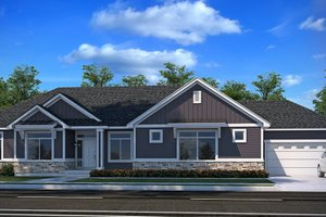Dream House Plan - Farmhouse Exterior - Front Elevation Plan #1073-17