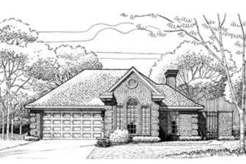 Home Plan - European Exterior - Front Elevation Plan #410-221