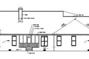 Ranch Style House Plan - 3 Beds 2 Baths 1775 Sq/Ft Plan #15-141 Exterior - Rear Elevation
