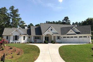 Architectural House Design - Traditional Exterior - Front Elevation Plan #437-83