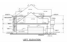 House Plan Design - Mediterranean Exterior - Other Elevation Plan #20-256
