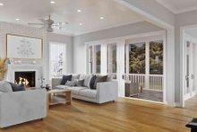 House Plan Design - Craftsman Interior - Family Room Plan #1079-1