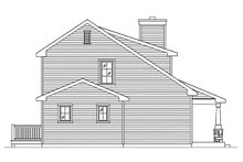 Dream House Plan - Bungalow Exterior - Other Elevation Plan #22-598