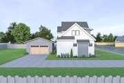 Farmhouse Style House Plan - 3 Beds 2.5 Baths 1844 Sq/Ft Plan #1070-40 Exterior - Other Elevation