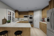 Architectural House Design - Traditional Interior - Kitchen Plan #1060-63