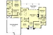Farmhouse Style House Plan - 3 Beds 2 Baths 2199 Sq/Ft Plan #430-235 Floor Plan - Main Floor