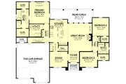 Farmhouse Style House Plan - 3 Beds 2 Baths 2199 Sq/Ft Plan #430-235 Floor Plan - Main Floor