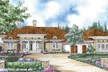 Architectural House Design - Mediterranean Exterior - Front Elevation Plan #930-265