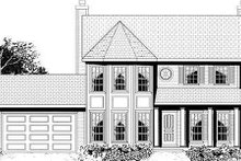 Home Plan - Traditional Exterior - Other Elevation Plan #3-163