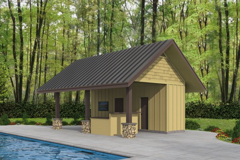 Dream House Plan - Country Exterior - Front Elevation Plan #932-287