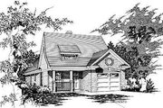 Traditional Style House Plan - 3 Beds 2 Baths 1040 Sq/Ft Plan #329-207 Exterior - Front Elevation