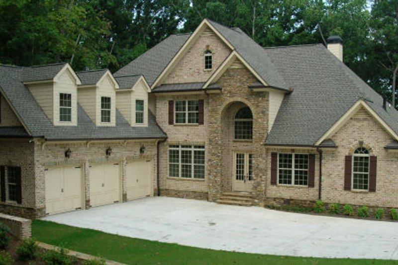 Dream House Plan - European Exterior - Front Elevation Plan #437-50