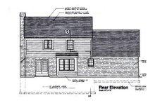 Traditional Exterior - Rear Elevation Plan #46-122