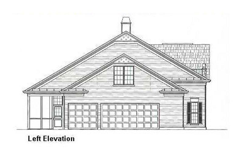 European Exterior - Other Elevation Plan #119-151 - Houseplans.com