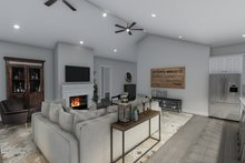House Design - Ranch Interior - Family Room Plan #1060-99