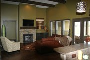 Traditional Style House Plan - 3 Beds 2.5 Baths 1960 Sq/Ft Plan #17-2400 Interior - Family Room